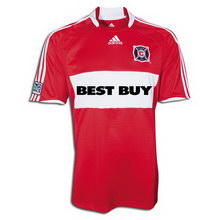 Foto de la camiseta de fútbol oficial de Chicago Fire local 2008
