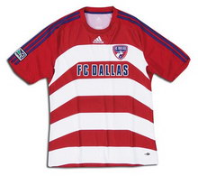 Foto de la camiseta de fútbol oficial de FC Dallas local 2008