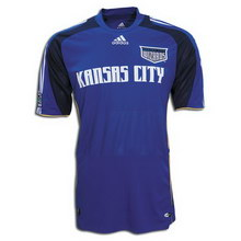 Foto de la camiseta de fútbol oficial de Sporting Kansas City local 2008